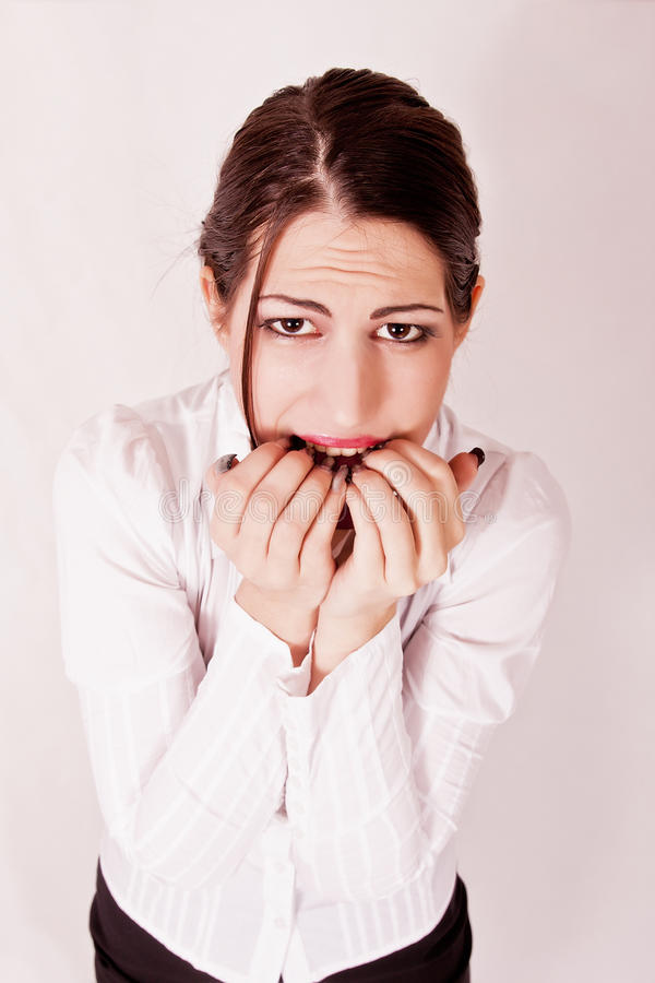 Download Angry Stressed Businesswoman Stock Photo - Image: 26942400