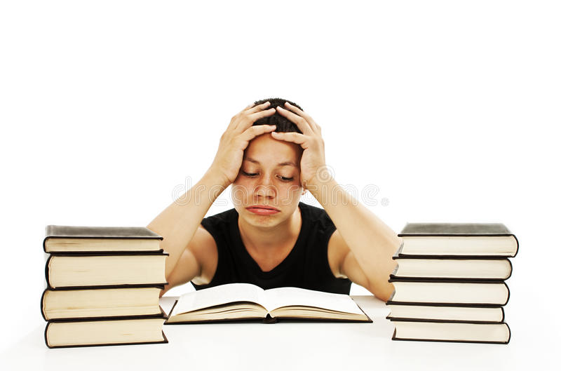 Download Angry Student With Learning Difficulties Royalty Free Stock Images - Image: 27574579