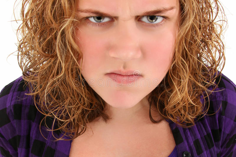 Download Angry Teenager stock photo. Image of years, teen, caucasian - 16154418