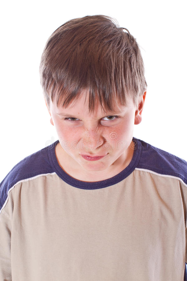 Download Angry teenager stock image. Image of male, expressions - 29070505