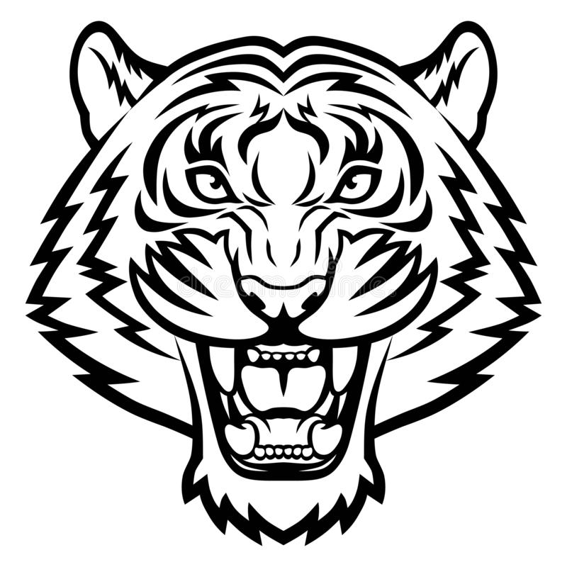 Free Angry Tiger Face Royalty Free Stock Photos - 159976018