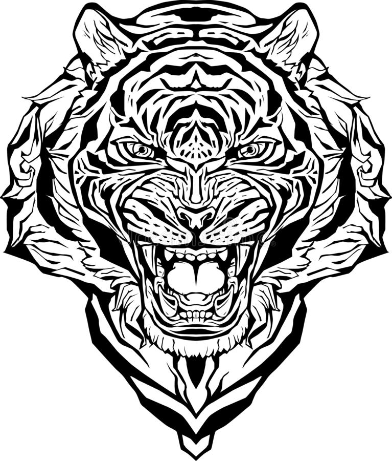 Free Printable Tiger Coloring Pages For Kids | 900x767