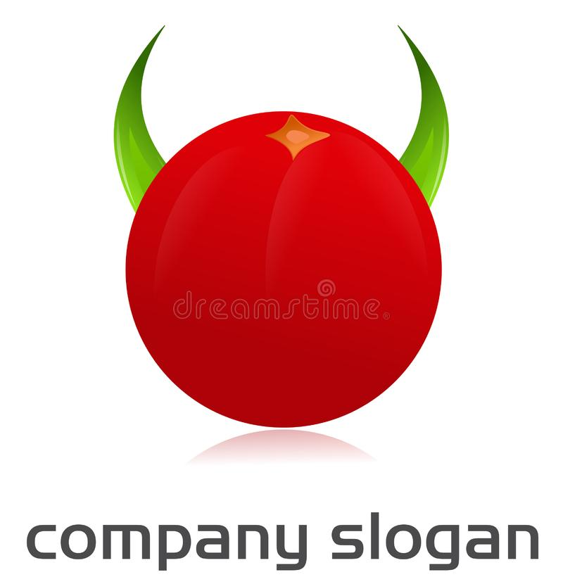 Download Angry tomato logo stock vector. Illustration of spicy - 21398778