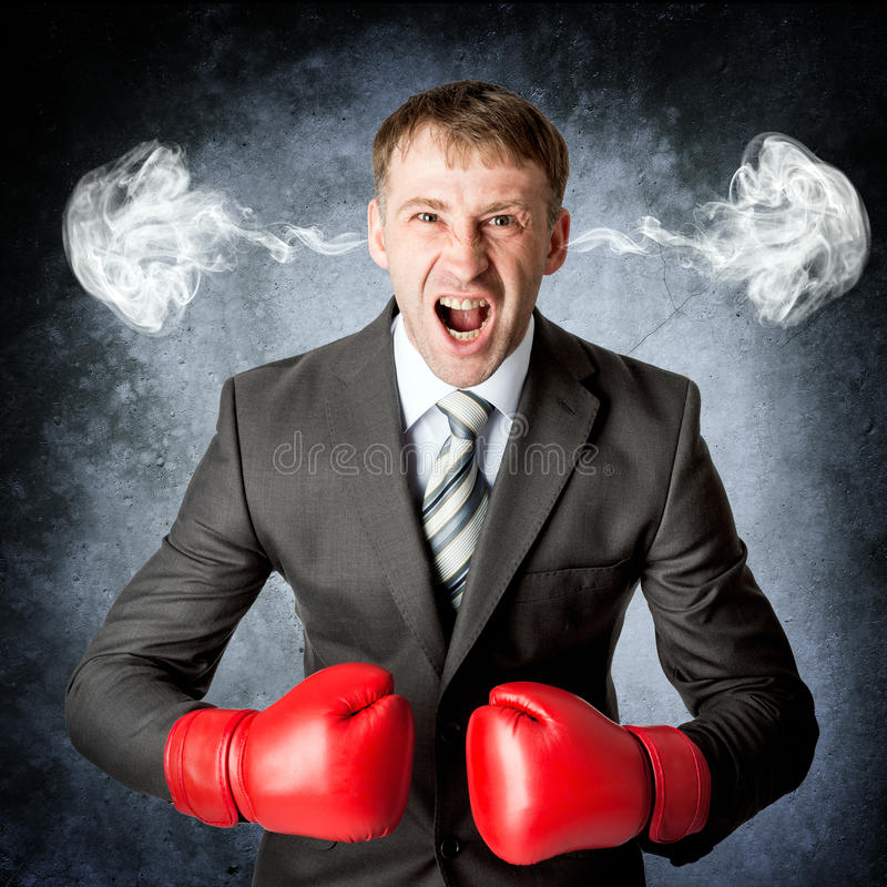 Angry upset stressed man with head pressure royalty free stock photos