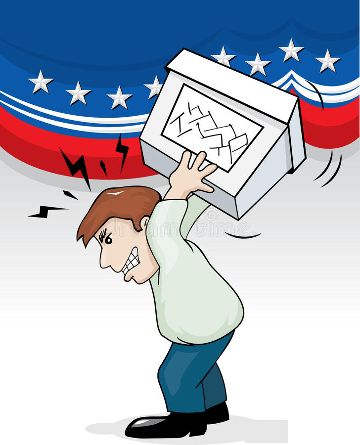 Angry Voter Stock Photos