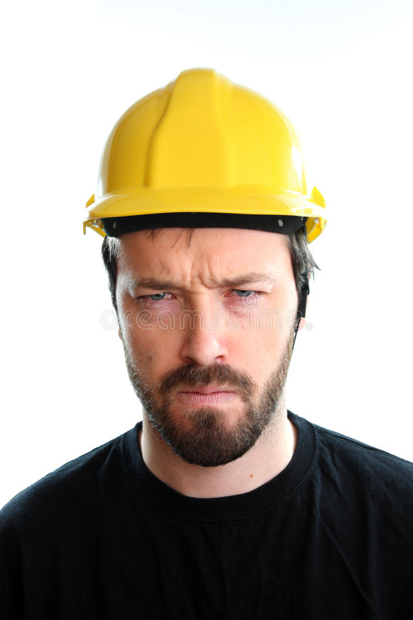 Angry Worker Stock Images