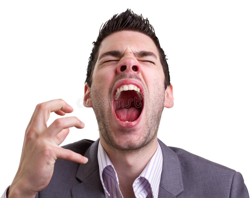 Download Angry young man stock photo. Image of rage, screaming - 19746832
