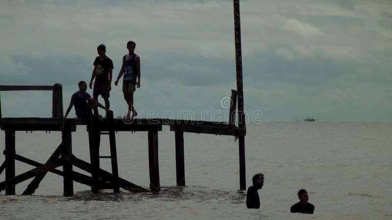 Angsana Beach royalty free stock photo