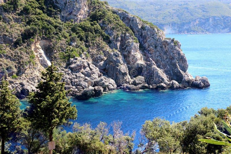 泰国山�^_angthong国家公园海运泰国视图 山景 美丽的paleokastritsa和爱奥尼亚