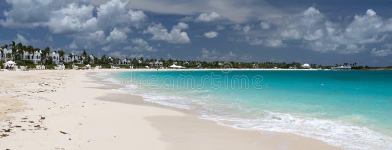 Anguilla, britisches Überseegebiet in den Karibischen Meeren stockfotografie