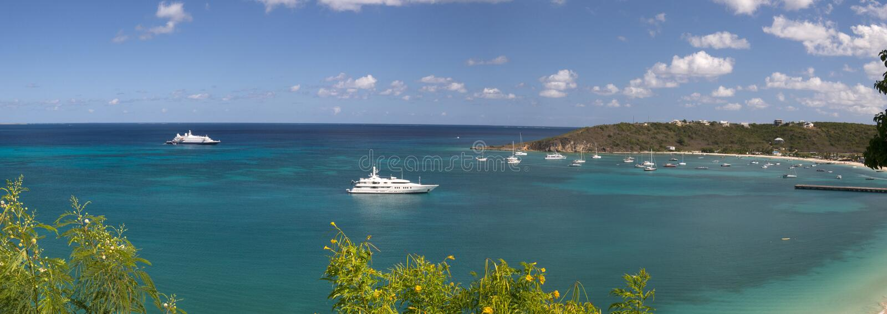 Anguilla, britisches Überseegebiet in den Karibischen Meeren lizenzfreie stockbilder