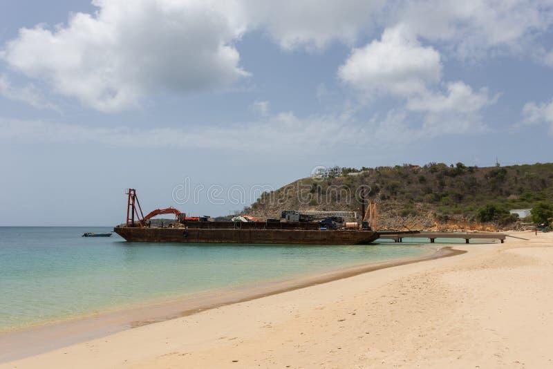 Download Anguilla stock photo. Image of nature, coast, shipwreck - 56115824