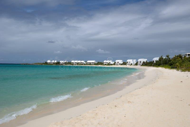 Anguilla, karibisches Meer lizenzfreies stockbild