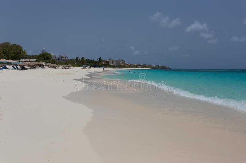Download Anguilla stock image. Image of scenery, empty, coastline - 56229815