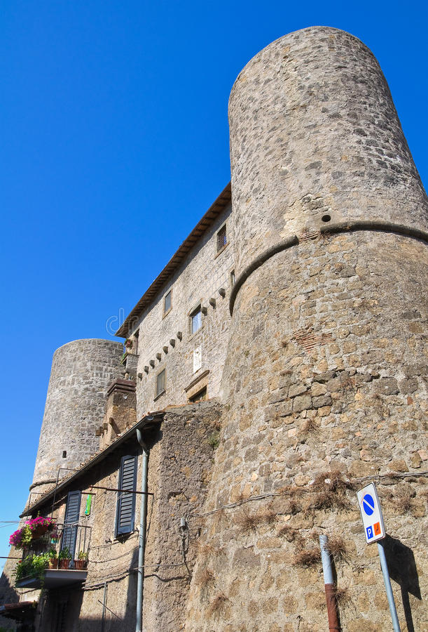 Free Anguillara Castle. Ronciglione. Lazio. Italy. Stock Images - 28271344