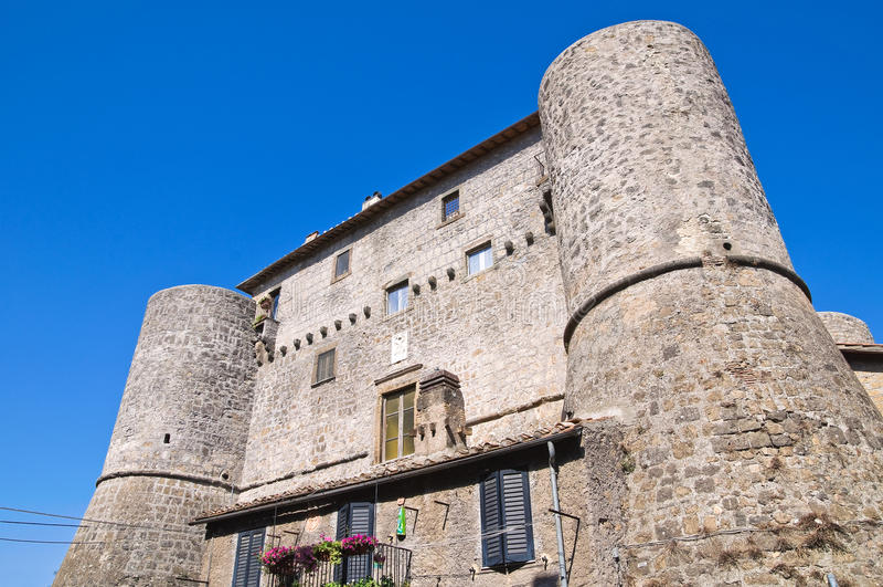 Download Anguillara Slott. Ronciglione. Lazio. Italien. Fotografering för Bildbyråer - Bild av lampglas, århundrade: 27278293