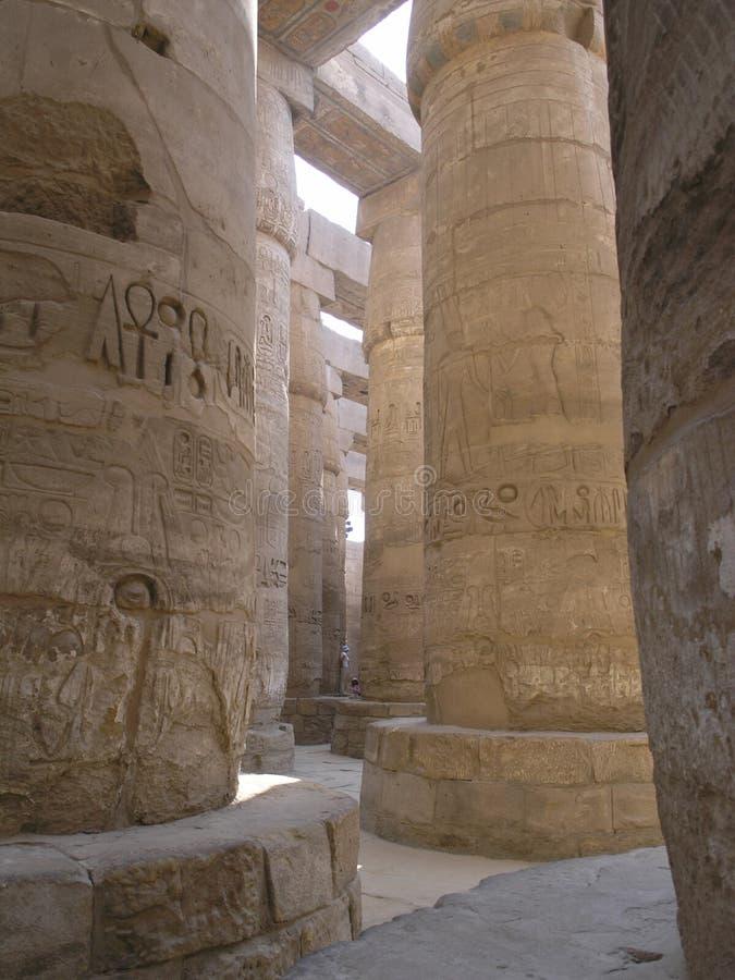 Angular columns royalty free stock image