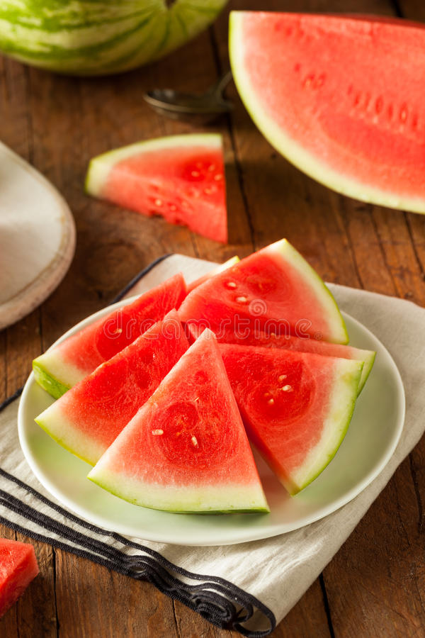 Download Anguria Senza Semi Matura Organica Immagine Stock - Immagine di nutrizione, melone: 55351601