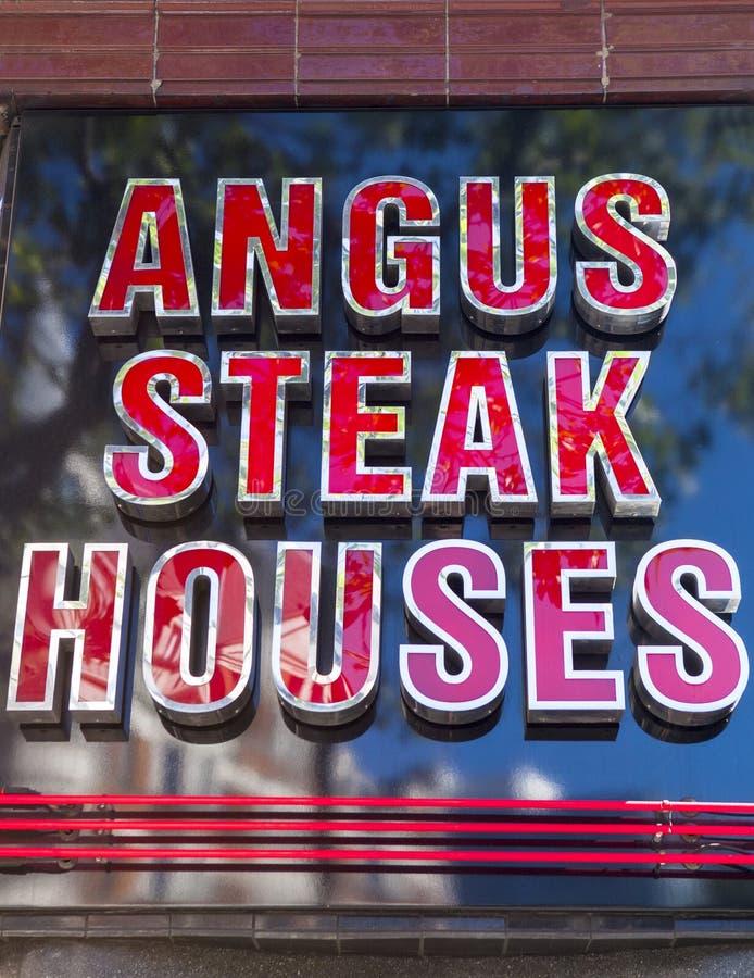 Angus Steak Houses foto de stock