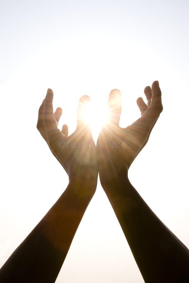 Anhalten der Sonne stockfotos