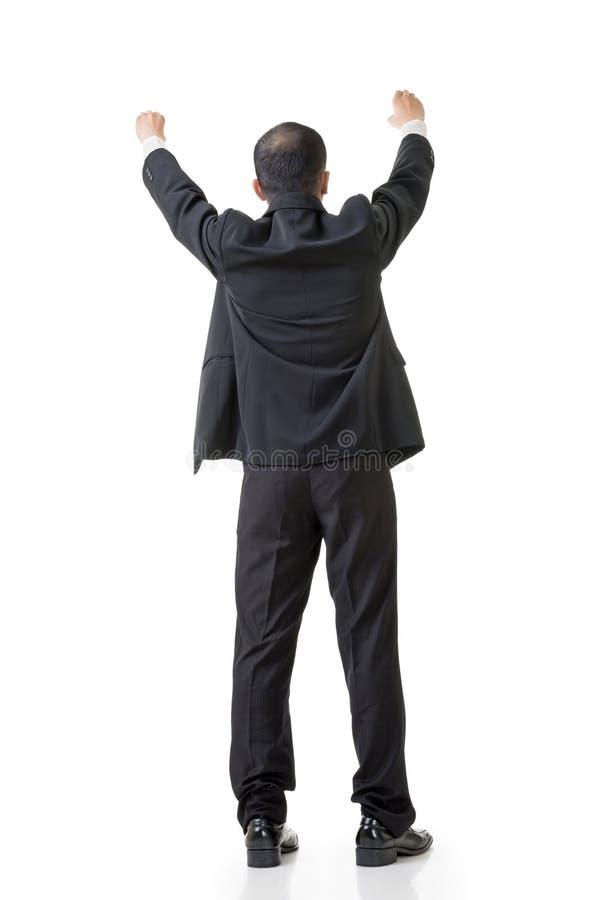 Anheben der Hand, um etwas zu setzen lizenzfreie stockfotografie