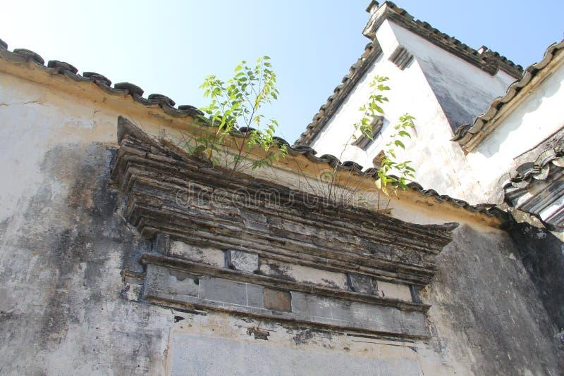 In Anhui-Provincie, het dorp van China Hongcun stock afbeelding