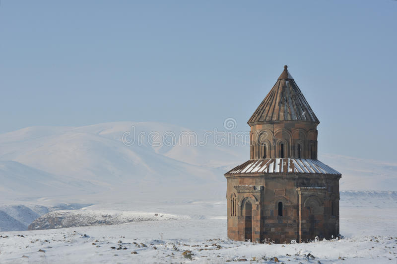 Ani - Kerk van van St. Gregory royalty-vrije stock foto's