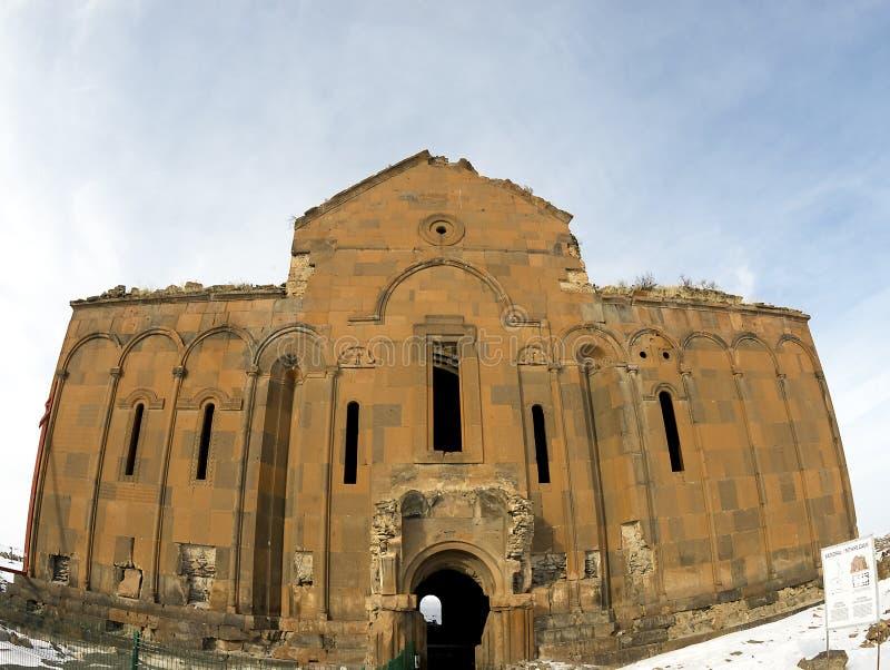 Ani Ruins Winter (Seizoen 4) royalty-vrije stock afbeeldingen