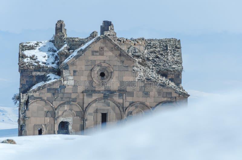 Ani Ruins Winter (Seizoen 4) royalty-vrije stock afbeelding