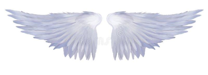 anielscy skrzydła obraz stock