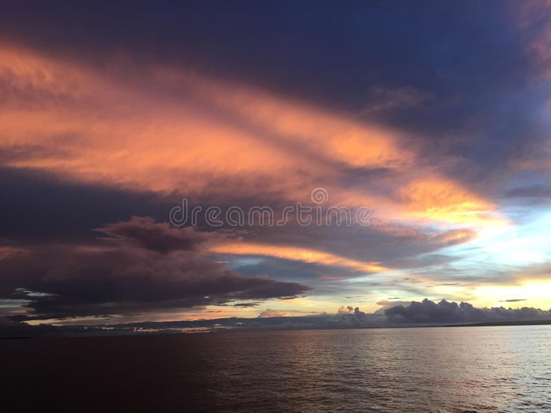 Anika Beach dans Bantayan photos libres de droits
