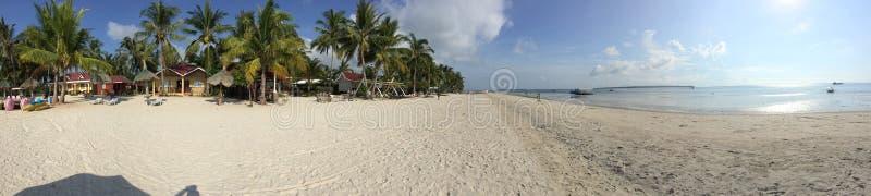 Anika Beach en Bantayan imagen de archivo