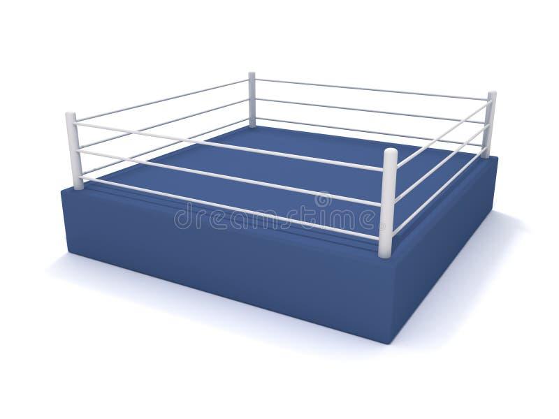 Download Anillo de boxeo stock de ilustración. Imagen de plataforma - 17113523