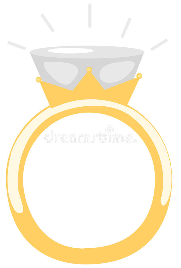 Anillo de diamante libre illustration