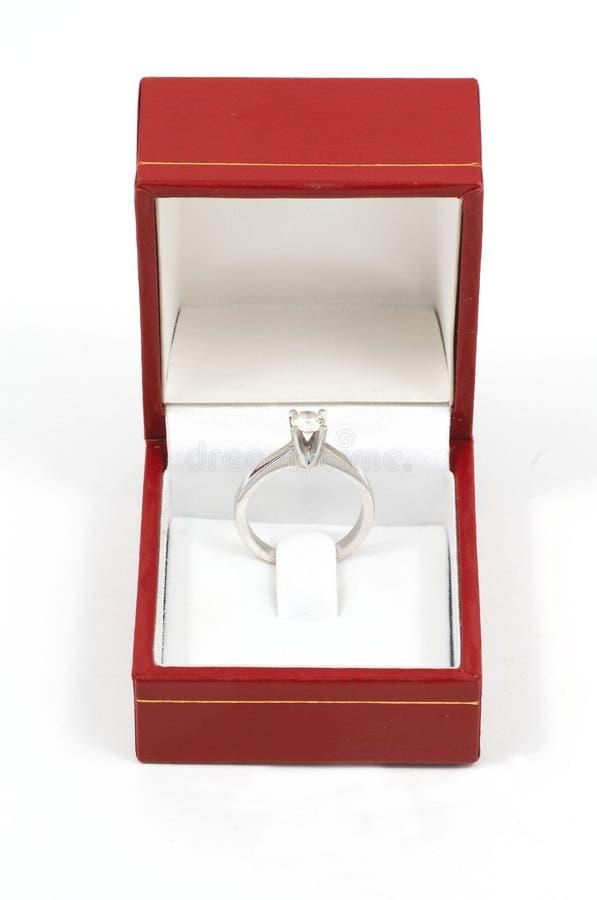 Anillo de diamante fotos de archivo libres de regalías