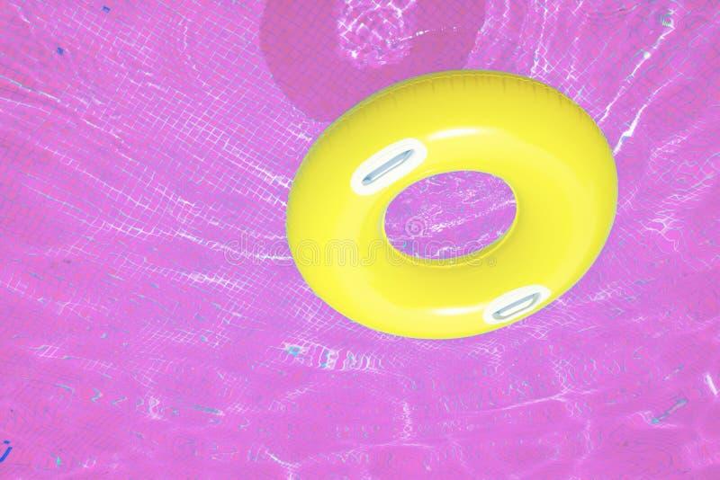 Anillo de goma en rosa fotos de archivo libres de regalías