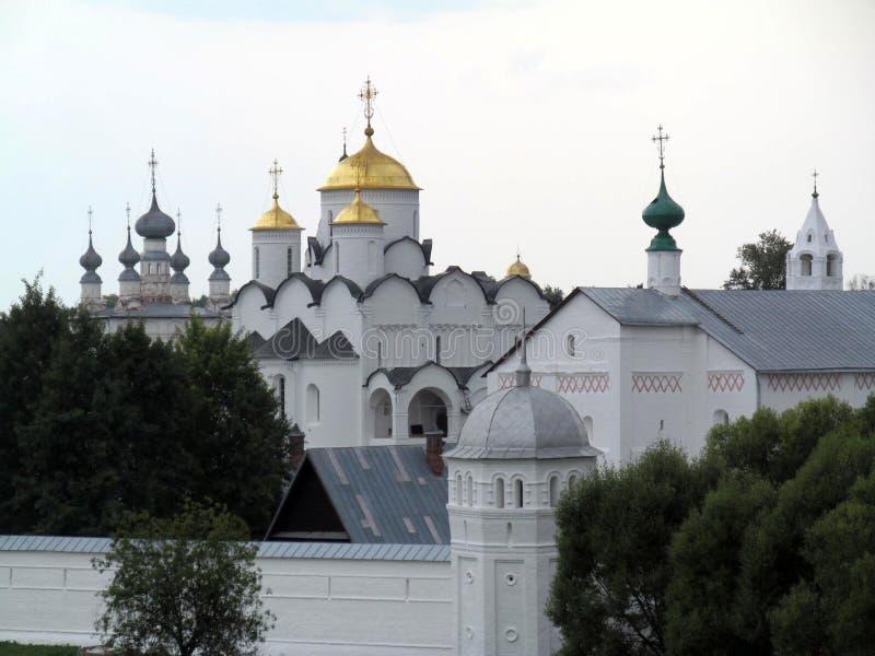 Anillo de oro de Suzdal de Rusia imágenes de archivo libres de regalías