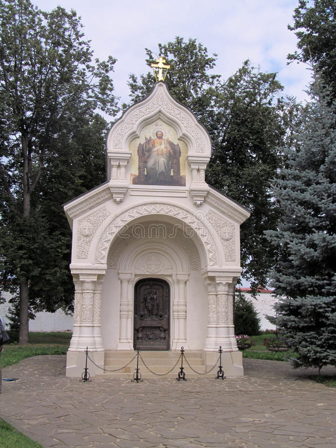 Anillo de oro de Suzdal de Rusia fotografía de archivo