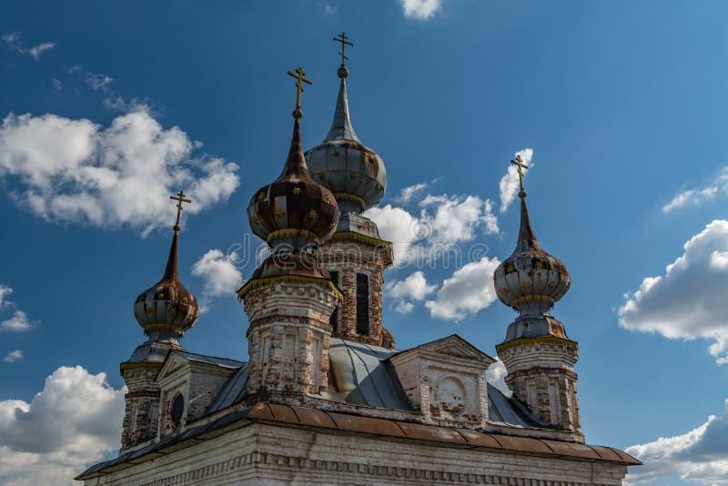 Anillo de oro de Rusia En el territorio del monasterio de Michael del arcángel en Yuryev-Polsky fotos de archivo libres de regalías