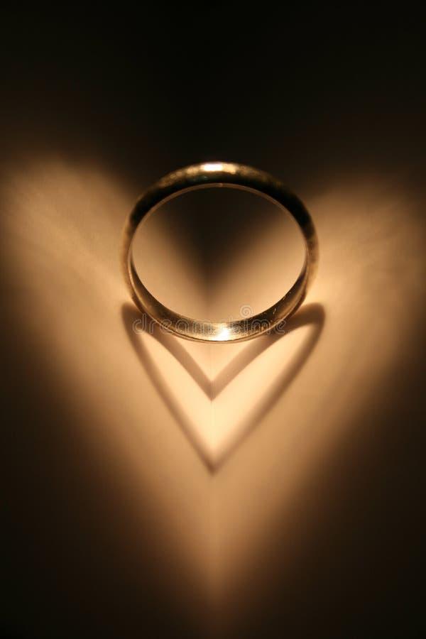 Anillo del amor imágenes de archivo libres de regalías
