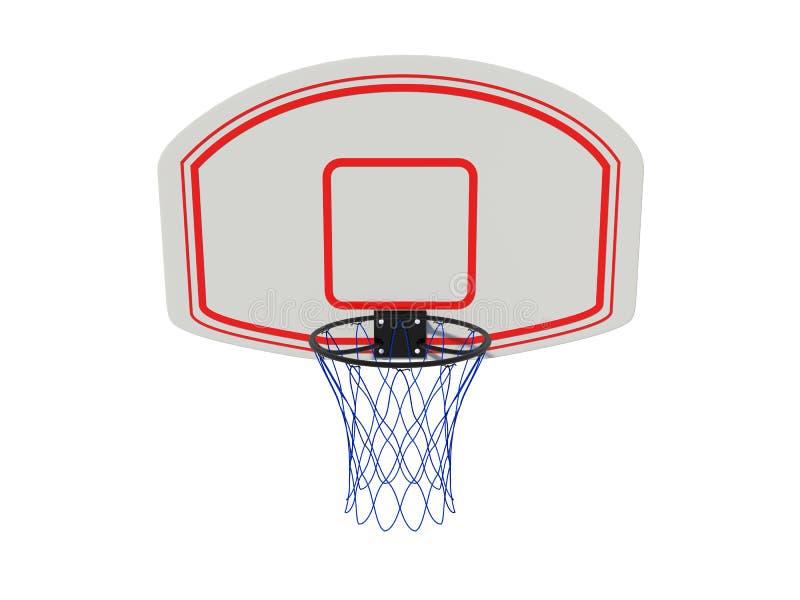 Anillo del baloncesto stock de ilustración
