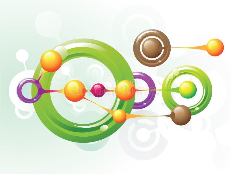 Anillos de la molécula libre illustration