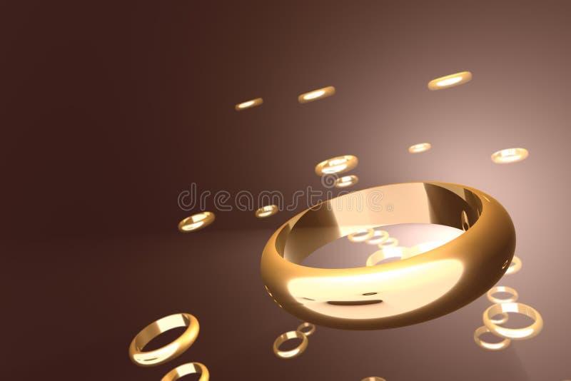 Anillos de oro libre illustration