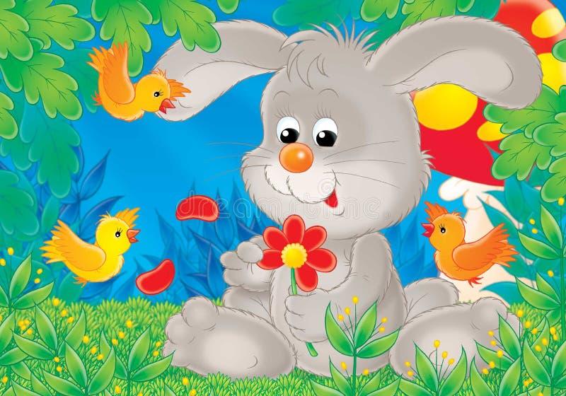 Animais alegres 02 ilustração stock