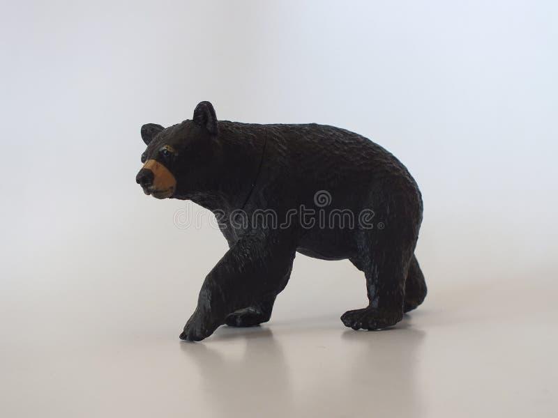 Animais do brinquedo das crianças em casa fotografia de stock