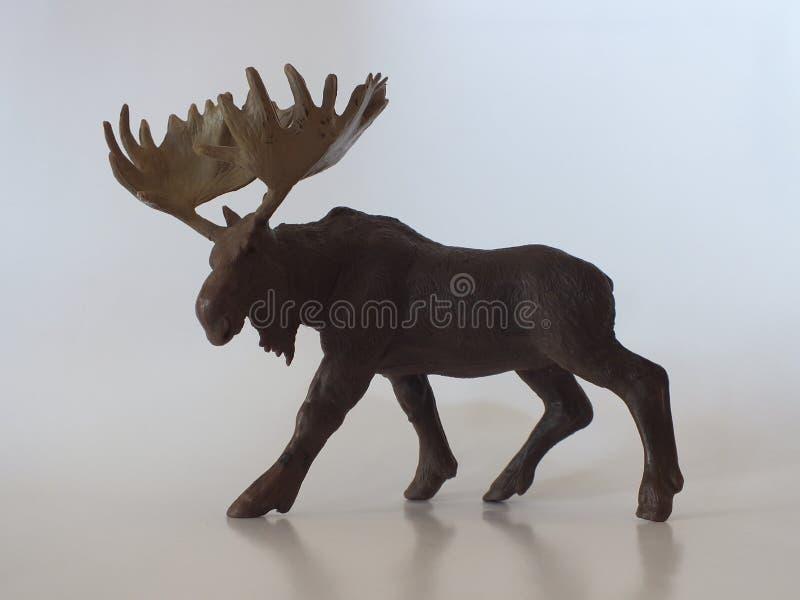 Animais do brinquedo das crianças em casa foto de stock
