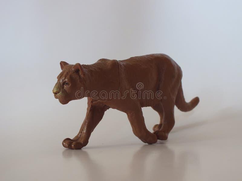 Animais do brinquedo das crianças em casa foto de stock royalty free