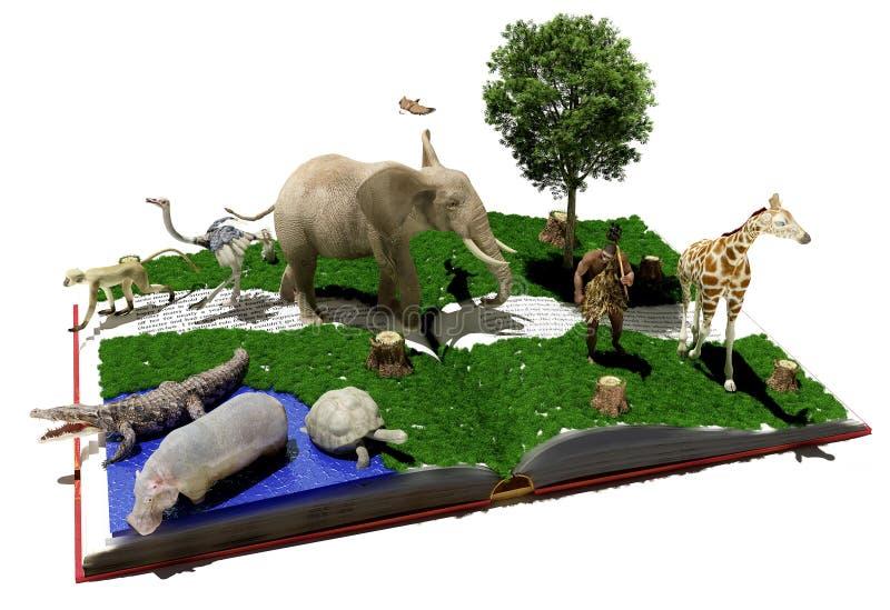 Animais selvagens ilustração do vetor