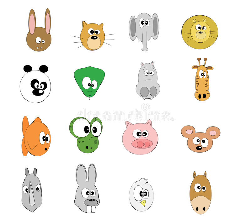 Animais (vários) imagem de stock royalty free