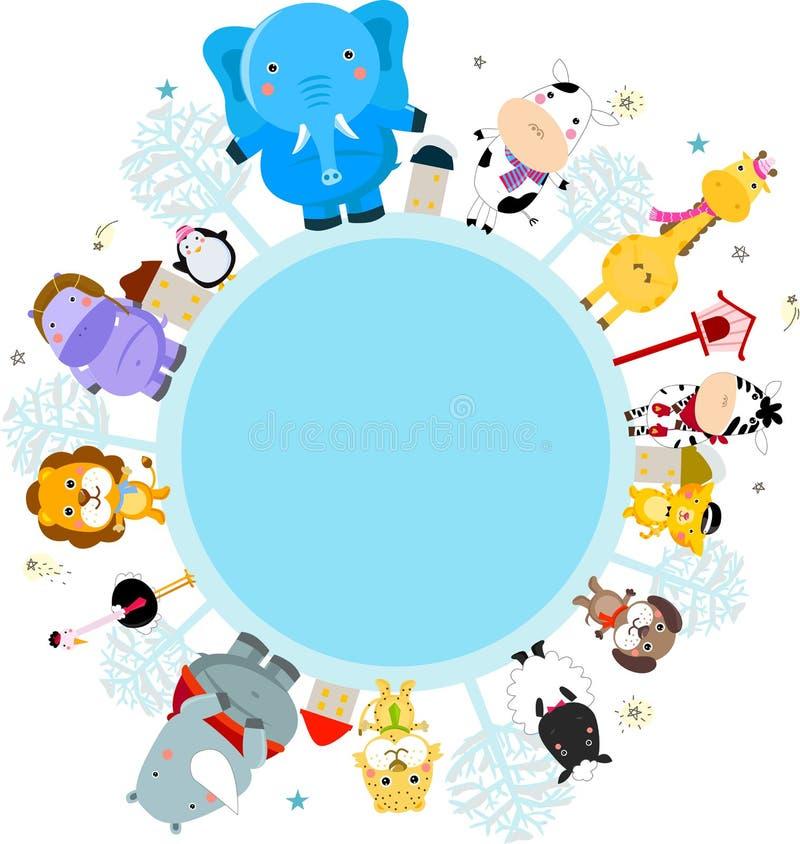Animal ilustração stock